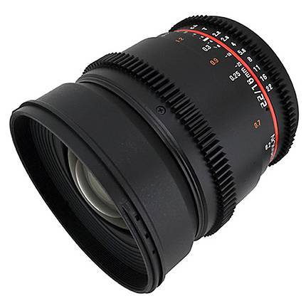 Rokinon 16mm T/2.2 Cine Wide Angle Lens for Sony A - Black