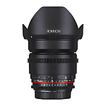 Rokinon 16mm T2.2 APS-C  Cine DS Lens for Nikon
