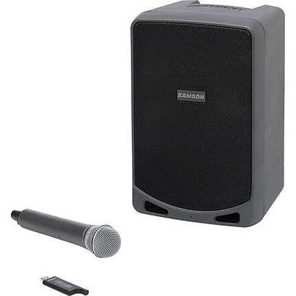 Samson Expedition XP106w Portable PA System with Wireless Handheld Mic