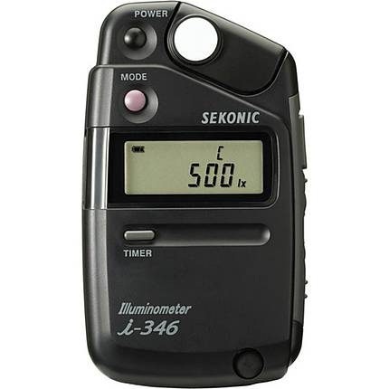 Sekonic i-346 Illiminometer Foot Candle Light Meter