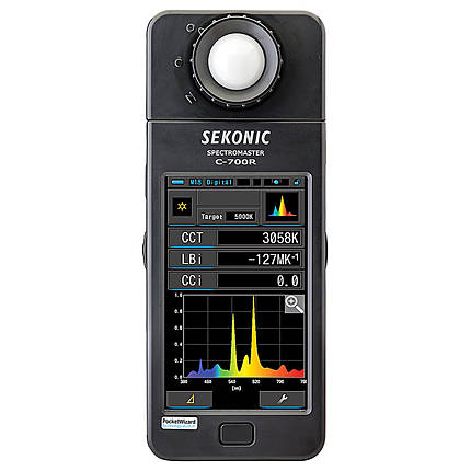 Sekonic - C-700R-U Spectrometer w/ Pocket Wizard Transmitter