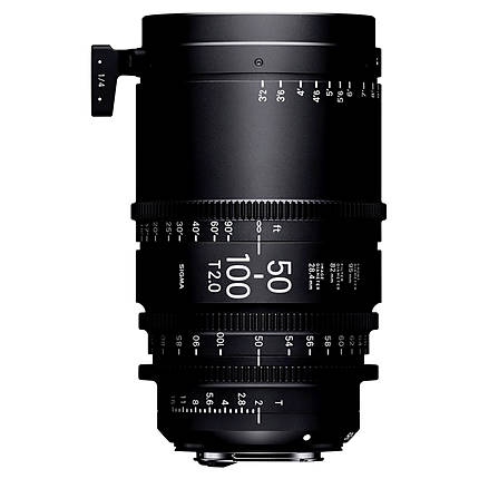 Sigma 50-100mm T2 High-Speed Zoom Lens (PL)