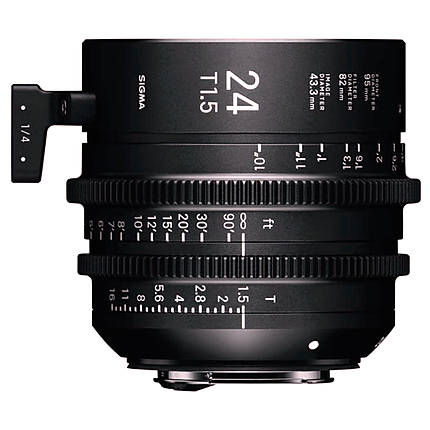 Sigma 24mm T1.5 FF High-Speed Prime Lens (Sony E)