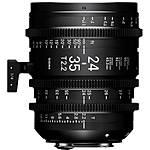 Sigma 24-35mm T2.2 FF Zoom Lens (Sony E, Metric)