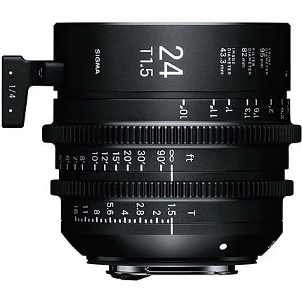 Sigma 14mm T2 FF High-Speed Prime Lens (Canon EF, Metric)