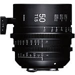 Sigma 50mm T1.5 FF High-Speed Prime Lens (Canon EF, Metric)