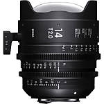 Sigma 14mm T2 Fully Luminous FF High-Speed Prime Lens (Canon EF)