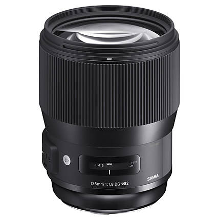 Sigma 135mm f/1.8 DG HSM Art Lens for Canon EF