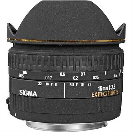 Sigma EX DG Diagonal 15mm f/2.8 Fisheye Lens for Canon Mount - Black