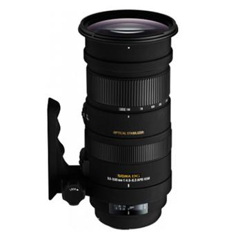 Sigma APO DG OS HSM 50-500mm f/4.5-6.3 Telephoto Lens for Sigma - Black