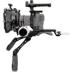 Shape Canon C70 Baseplate, Cage with Handles, Matte Box  and  Follow Focus Pro