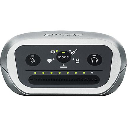 Shure MOTIV MVI Single-Channel USB Audio Interface - Silver