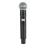 Shure ULXD2 Handheld Transmitter with SM58 Mic Capsule G50: 470 to 534 MHz