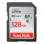 SanDisk Ultra SDXC 128 GB UHS Class 10 up to 80MB/s Read
