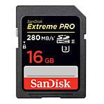 SanDisk Extreme PRO SDHC 16GB UHS-II