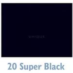 Savage 107ft x 50yds Widetone Seamless Background Paper  - #20 Super Black