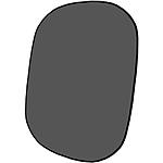 Savage 60x72 Reversible Collapsible Background - Dark/Light Gray