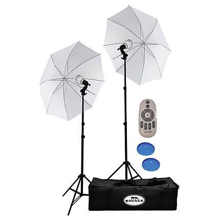 Savage 700W LED Bi-Color LED Studio Light Kit