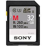 Sony 32GB M Series UHS-II SDHC Class 10 Memory Card (U3)