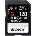 Sony 128GB SF-G Series UHS-II SDXC Class 10 Memory Card