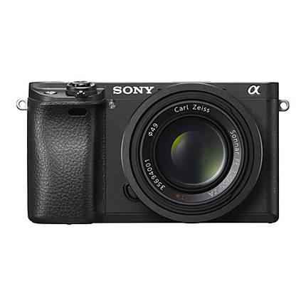 Sony Alpha a6300 Mirrorless Digital Camera with 16-50mm Lens - Black