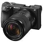 Sony a6500 Mirrorless Interchangeable-Lens Camera with 18-135mm Lens