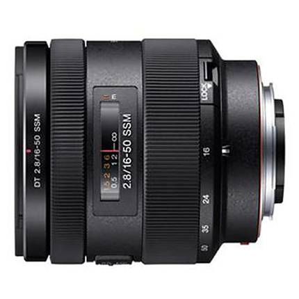 Sony DT 16-50mm F2.8 SSM Zoom Lens for APS-C