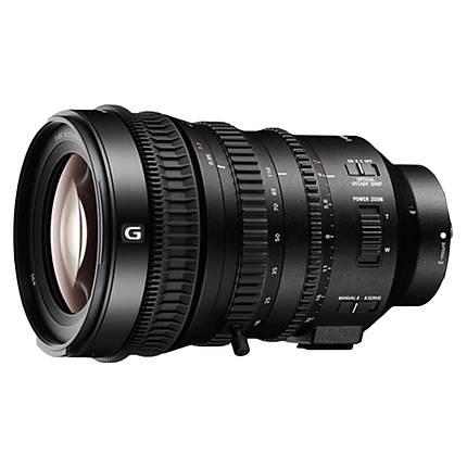 Sony 18-110mm f/4 G OSS APS C / Super35 E-Mount Power Zoom Lens