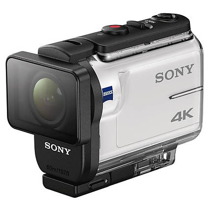 Sony FDR-X3000 4K Action Camera with Balanced Optical SteadyShot