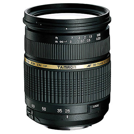 Tamron SP AF XR Di LD Macro 28-75mm f/2.8 Medium Zoom Lens for Canon - Black
