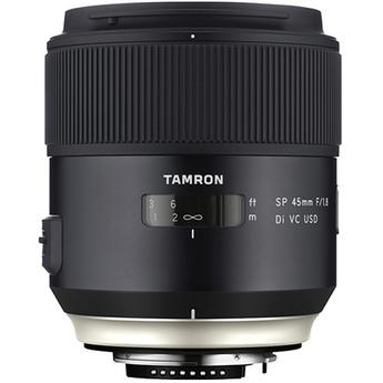 Tamron SP 45mm f/1.8 Di VC USD Lens for Nikon F Mount