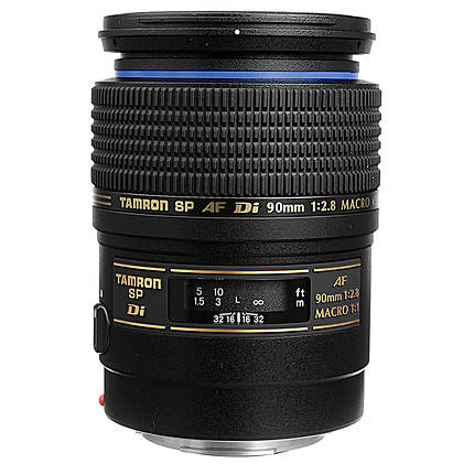 Tamron SP AF 90mm f/2.8 Di Macro Lens for Canon EOS - Black