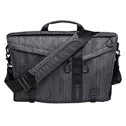 Tenba DNA 15 Slim Messenger Camera and Laptop Bag Graphite | Carry ...