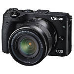 Used Canon EOS M3 Digital Camera with 18-55mm IS STM [D] - Excellent