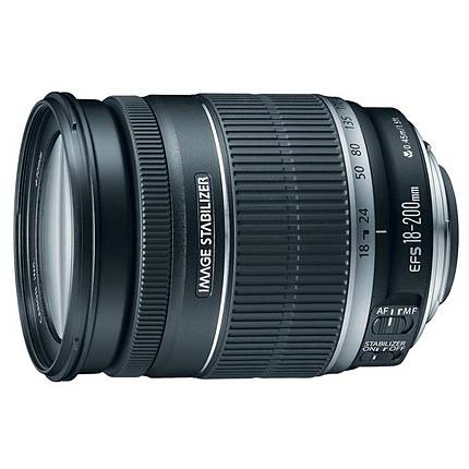 Canon EF-S 18-200mm f/3.5-5.6 IS Standard Zoom Lens [L] - Excellent