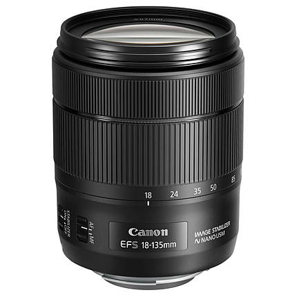 Used Canon EF-S 18-135mm f/3.5-5.6 IS USM Lens [L] - Excellent