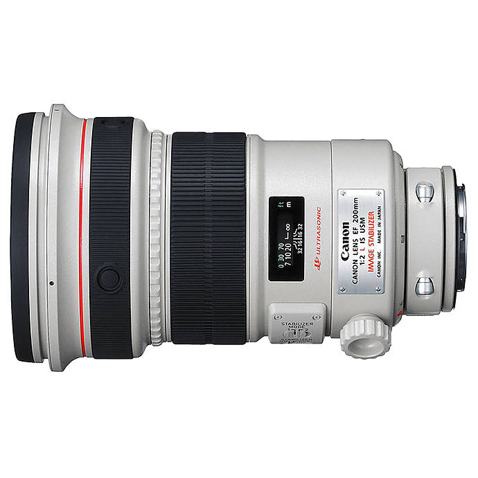Used Canon EF 200mm f 2L IS USM Lens [L] Excellent