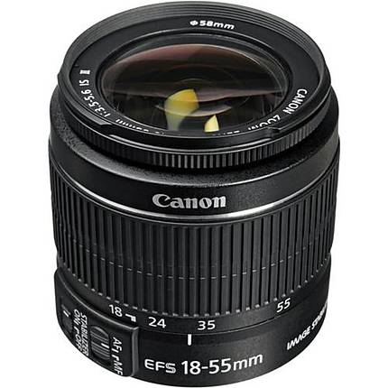 Used Canon EF-S 18-55mm f/3.5-5.6 IS II - Excellent