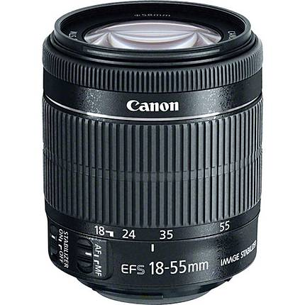 Used Canon EF-S 18-55mm f/3.5-5.6 IS STM Lens [L] - Excellent
