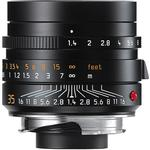 Used Leica Summilux-M 35mm f/1.4 ASPH Lens (Black) 11663 [L] - Excellent