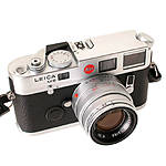 Used Leica M6 .72 Non TTL w/ 50mm f/2 Summicron (Chrome) - Excellent