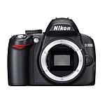 Used Nikon D3000 DX Digital Camera (Body Only) - Excellent