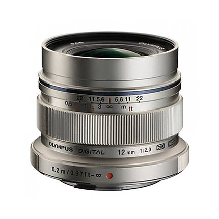 Used Olympus M. Zuiko Digital ED 12mm f/2.0 Lens - Excellent