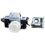 Used Nikon F SLR Chrome w/ Waist Level Finder [F] - Fair