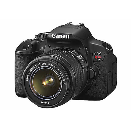 Used Canon Rebel T4i w/ 18-55mm Lens - Good