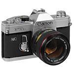 Used Canon FTb 35mm SLR w/ 50mm 1.8 FD - Good