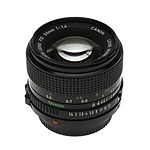 Used Canon FD 50mm f/1.4 [L] - Good