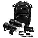 Used Profoto B1 500 AirTTL Location Kit 2 Heads,Backpack,Charger [H] - Good