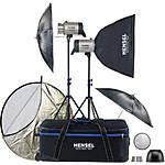 Hensel Integra Plus 2 Light Kit w/ Stands (1000 Total W/s) [H] - Good