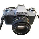 Used Minolta X-370 SLR w/ 50mm f/1.7 [F] - Good